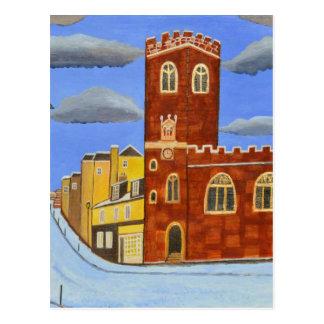 Cartão Postal Casa de Tudor em Exeter