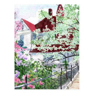Cartão Postal Casa do Victorian de Eureka Springs