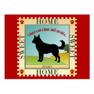Cartão Postal Casa doce Home - rouco