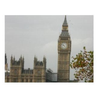 Cartão Postal Casa dos Comuns de Big Ben