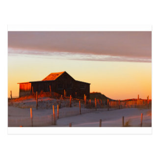 Cartão Postal Casa no por do sol - 1