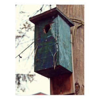 Cartão Postal Casa pássaro