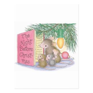 Cartão Postal Casa-Rato Designs®