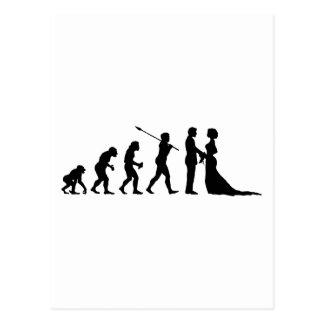 Cartão Postal Casado