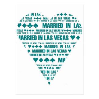 Cartão Postal Casado em Las Vegas