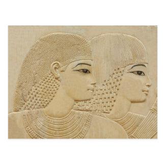 Cartão Postal Casal egípcio