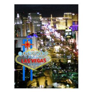 Cartão Postal Casamento de Las Vegas nós Eloped