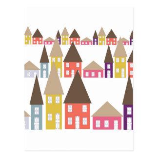 Cartão Postal Casas