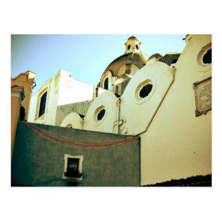 Cartão Postal Casas de Capri