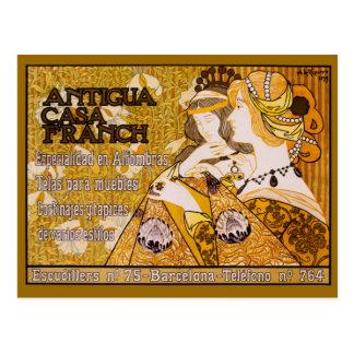 Cartão Postal Casas Franch de Antígua