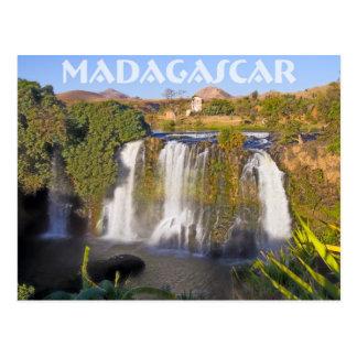 Cartão Postal Cascata de Ampefy, Madagáscar