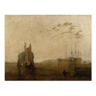 Cartão Postal Cascos no Tamar, c.1812