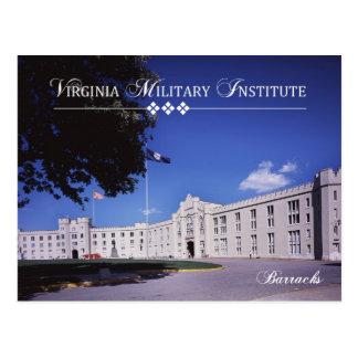 Cartão Postal Casernas velhas, Virginia Military Institute (VMI)