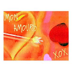 Cartão Postal Caso amoroso de segunda-feira