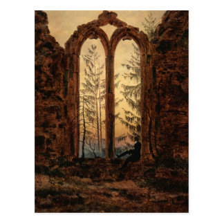 Cartão Postal Caspar David Friedrich: O sonhador