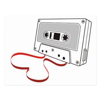 Cartão Postal Cassete áudio