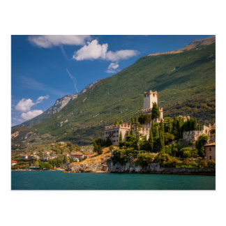 Cartão Postal Castel Scaligero