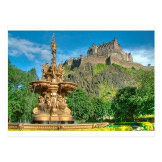 Cartão Postal Castelo 9082 de Edimburgo