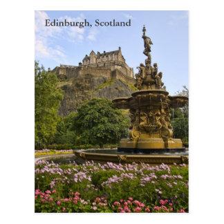 Cartão Postal Castelo bonito de Edimburgo