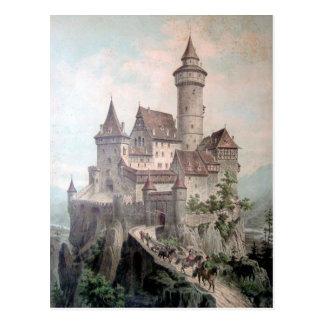 Cartão Postal Castelo da fantasia