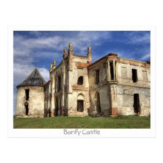 Cartão Postal Castelo de Banfy
