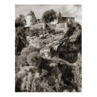 Cartão Postal Castelo de Belcastel, Soulliac