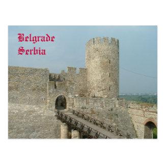 Cartão Postal Castelo de Belgrado