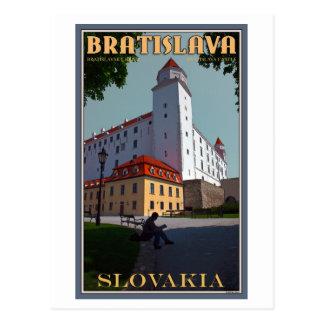 Cartão Postal Castelo de Bratislava