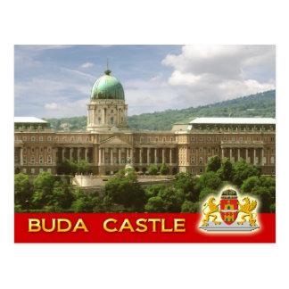 Cartão Postal Castelo de Buda em Budapest, Hungria