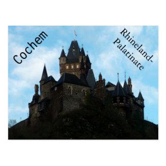 Cartão Postal Castelo de Cochem em Alemanha