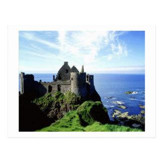 Cartão Postal Castelo de Dunluce
