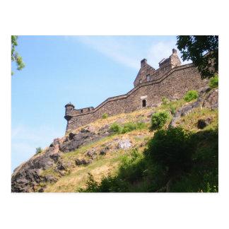 Cartão Postal Castelo de Edimburgo