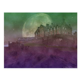 Cartão Postal Castelo de Edimburgo na noite