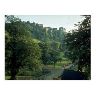 Cartão Postal Castelo de Edimburgo, Scotland