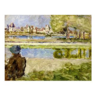Cartão Postal Castelo de Edouard Vuillard- de Fontainebleau