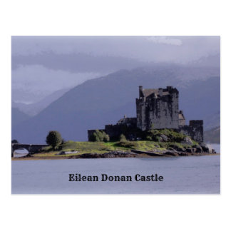 Cartão Postal Castelo de Eilean Donan