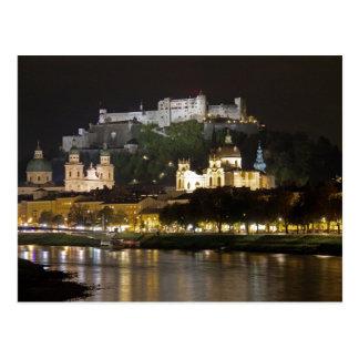 Cartão Postal Castelo de Hohensalzburg, Salzburg