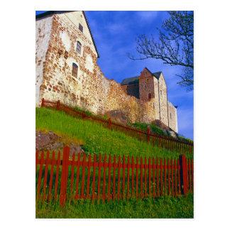 Cartão Postal Castelo de Kastelholm