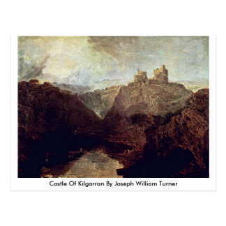 Cartão Postal Castelo de Kilgarran por Joseph William Turner