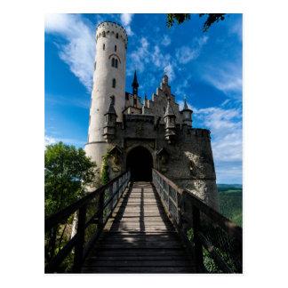 Cartão Postal Castelo de Lichtenstein - Baden-wurttemberg