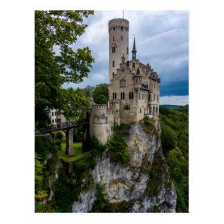 Cartão Postal Castelo de Lichtenstein - Baden-wurttemberg -