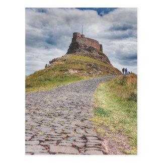 Cartão Postal Castelo de Lindisfarne