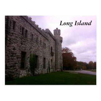 Cartão Postal Castelo de Long Island