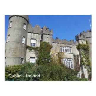 Cartão Postal Castelo de Malahide, Dublin, Ireland