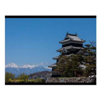 Cartão Postal Castelo de Matsumoto, cargo Ca de Matsumoto,
