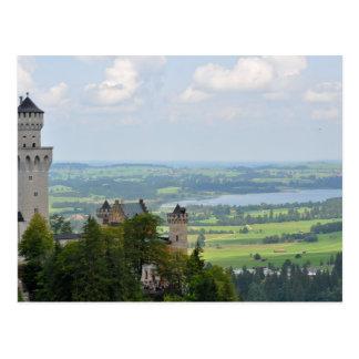 Cartão Postal Castelo de Neuschwanstein, Baviera, Alemanha