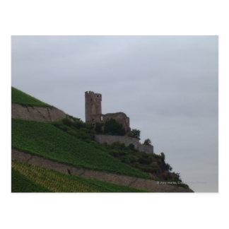 Cartão Postal Castelo de Rhine
