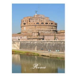 Cartão Postal Castelo de Sant'Angelo em Roma, Italia