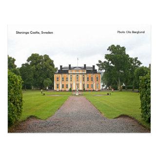 Cartão Postal Castelo de Steninge, suecia, foto O…