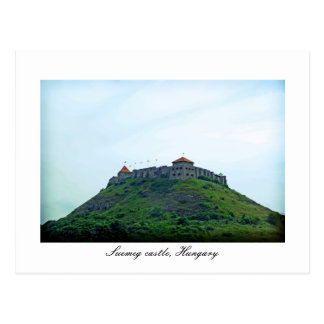 Cartão Postal Castelo de Suemeg, Hungria